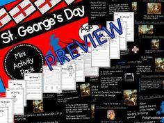 St. George's Day Activity Pack (Presentation and Activity Pack for KS1/KS2) #KS1 #EYFS #KS2 #edu #teach #school