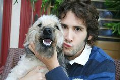Josh Groban and his Dog! #dog #josh #groban