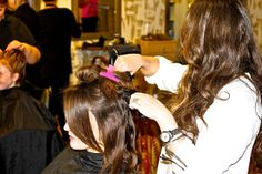 One of the master stylists on the Serata team will perfect your hair for the big day.