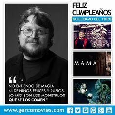 Para #GuillermoDelToro guionista, novelista y director mexicano de ideas y estética espectaculares en sus filmes, un universo no es suficiente, por eso ha creado muchos más. Felicitaciones!
