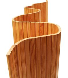 Alvar Aalto screen/room divider, model 100, 1938. Originally manufactured by Finmar, Finland. Material pine wood. / 1stDibs