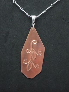 Sterling Silver with Copper.