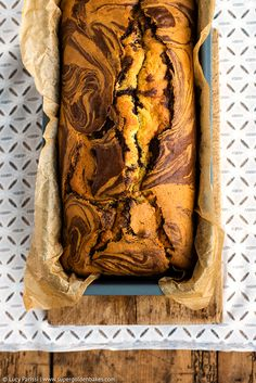 Blood Orange Chocolate Marble Cake supergolden bakes