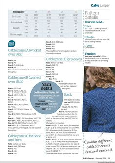 Knit Today Issue 94 2014 - 紫苏 - 紫苏的博客 (Ophelia Sweater P2)