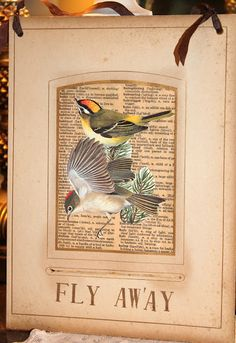 Common Ground: Vintage Inspiration Friday #38: Paper Birds