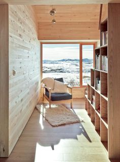 scandinavian retreat.