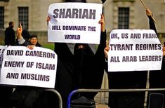 Muslim women asking for Sharia law