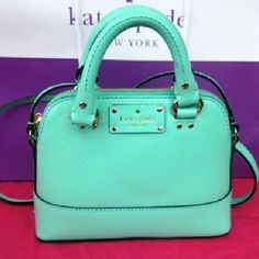 Kate Spade Mini Rachelle Wellesley This listing is for a brand new, never used Kate Spade Mini Rachelle leather handbag. This bag is so gorgeous! Regular price $198. Authentic. kate spade Bags Crossbody Bags