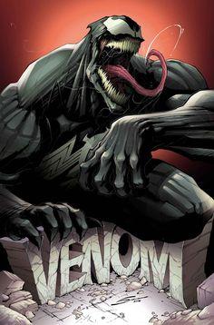 Venom - Marvel divulga primeiras imagens da nova revista solo do anti-herói! - Legião dos Heróis