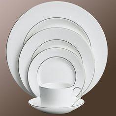 Blanc sur Blanc Plate 15cm - Vera Wang - Wedgwood - RoyalDesign.com  #design #royaldesign #interiordesign #decor #inredning #heminredning #inspiration