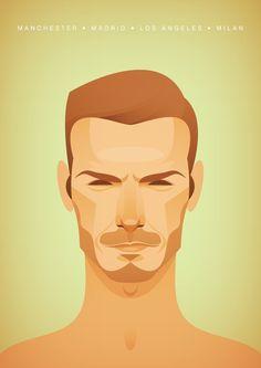 David Beckham by Stanley Chow
