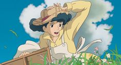 Some random pictures from the new Hayao Miyazaki film, 風立ちぬ Kaze Tachinu, or The Wind Rises in English. It's really the best love story Ghibli has ever made. We have the 2014 calendar on the site if. Hayao Miyazaki, Art Studio Ghibli, Good Animated Movies, Chihiro Y Haku, Le Vent Se Leve, Wind Rises, Ghibli Movies, Howls Moving Castle, Aesthetic Anime