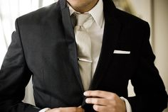 I am officially convinced that Bryan needs a champagne-colored tie.