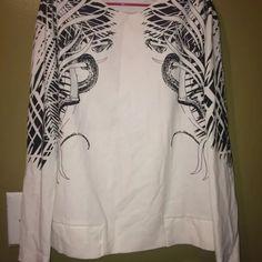 ZARA basi W&B women blouse size small In perfect shape ZARA W&B blouse perfect shape size small Zara Tops Blouses