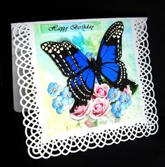 Blue Butterfly - CUP864080_543 | Craftsuprint
