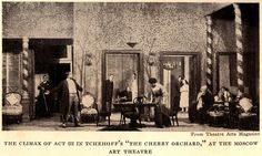 Moscow Art Theatre, 1904: Chekhov, The Cherry Orchard, Act III