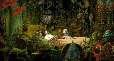 Howl Jenkin's bedroom from Howl's Moving Castle