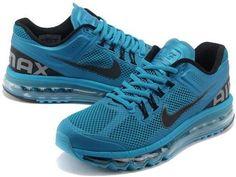 asneakers4u.com 2013 Nike air max cheap mens shoes black blue 2 40 47