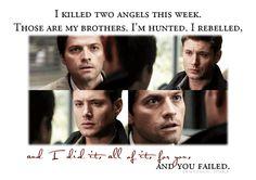 Castiel & Dean... My faves