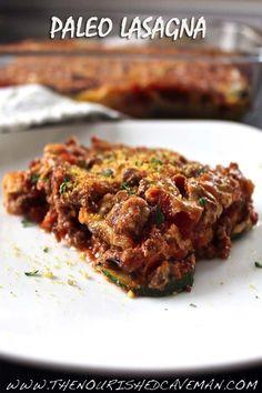 Paleo lasagna #food #paleo #glutenfree #lasagna