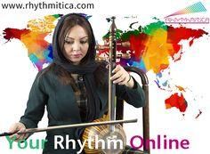 Persian Kamancheh online lessons by Negar Kharkan
