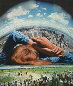 ' Daydream 'Collage on paper © Sammy Slabbinck 2013 porfolio / society6.com / facebook / flickr