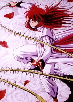 Yu Yu Hakusho — Kurama omg I love him Manga Anime, Comic Manga, Old Anime, Anime Nerd, Anime Comics, Anime Guys, Yu Yu Hakusho Anime, Geeks, Fiction Movies