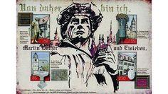 """Das Jubiläumsjahr """"500 Jahre Reformation"""" ist vomMZZ-Briefdienst Halle bereits mit zahlreichen Sonderausgaben gewürdigt worden, die Stationen der Reformation in Sachsen-Anhalt dokumentieren. Nun würdigen die Hallenser das Wirken Martin Luthers mit zwei weiteren gummierten Blocks, die im April erschienen sind: In…"""