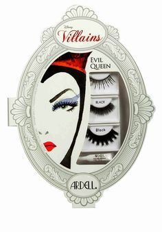 Ardell DISNEY VILLAINS Evil Queen Snow White False Eyelashes Makeup Kit NIB RARE #Ardell