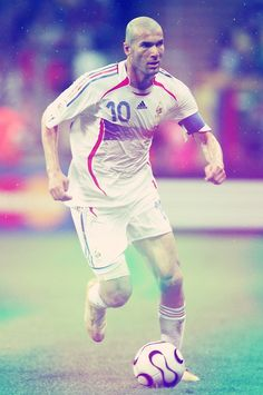 One of the best midfielders in the game of soccer of all time - Zinedine  Zidane. 2d6d905b9a830