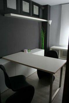 Un despacho elegante y modular   Piratas de Ikea