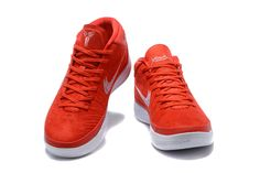online retailer 23b39 6af25 2017 Nike Kobe A.D. Mid Red White Basketball Shoes For Sale  New Jordans  2017
