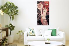 Acrylic Painting Floral Abstract Wall Decoration Contemporary Modern Art Painting Home Or Office Decoration Acrylic On Canvas Cherry Blossom Beach Canvas, Canvas Art, Canvas Prints, Art Prints, Oil Painting On Canvas, Original Paintings, Original Art, Fotografia Macro, Wall Decor