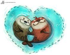 Day 815# Happy Valentines Day! by Cryptid-Creations.deviantart.com on @DeviantArt
