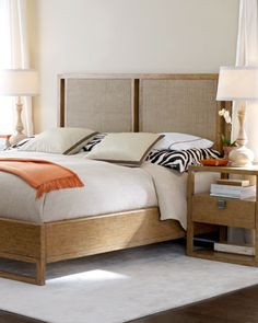 """""""Curtis"""" Bedroom Furniture at Horchow."""