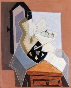 JUAN GRIS Still Life at the Open Window (1925)