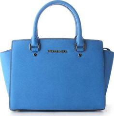 Selma Women S Satchel Bag Blue #michaelkors #fashion #obsessory #handbags #lifestyle #womenswear #nyfw
