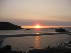 Beautiful sunset. Harris Beach, Brookings Oregon