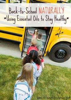 Make this school year the best school year ever ! Go Back to School NATURALLY by using these DIY products to stay healthy and be chemical free! :)