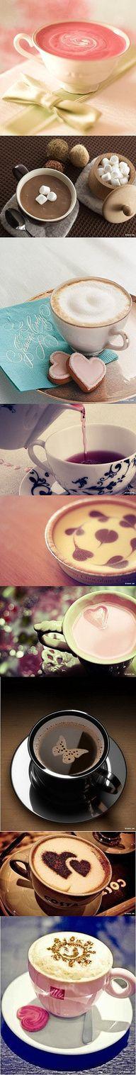 coffee & cocoa is a work of art Coffee Talk, I Love Coffee, Coffee Break, My Coffee, Coffee Drinks, Morning Coffee, Coffee Shop, Coffee Cups, Coffee Lovers