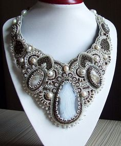 Beautiful embroidered jewelry by Taviko | Beads Magic