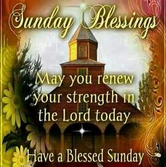 Have a blessed sunday!!