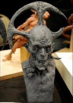 cool zombie head