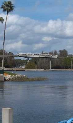 Walt Disney World Monorails - trivia! There are 14.7 miles of track! Por favor mantenganse...