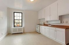 38 Leroy Street #1, west village apartment in Manhattan, NYC, kitchen, small two-bedroom apartment, ny apt, small space living, rental apartment