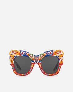 93cf1a6d97 SQUARE SUNGLASSES IN HAND-PAINTED WOOD Luxury Sunglasses