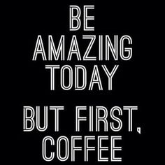 Let's start this week off with a bang!! Have an awesome Monday everyone ☕️