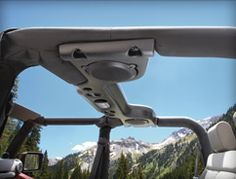 I'd love this view from this Jeep!