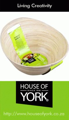 """Tapered Bowl with Handle - Large"""""""