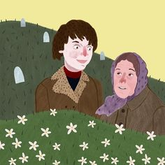 Harold and Maude (1971) ~ Alternative Movie Poster by Barry Lee #amusementphile